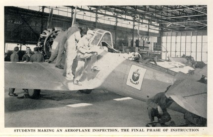 Final airplane inspection Sheppard Field 1942