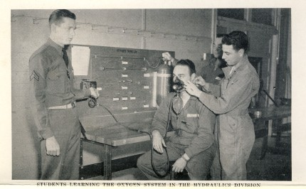 Instruction at Sheppard Field 1942