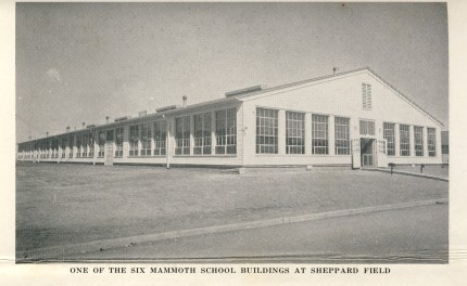 Instructional building - Sheppard Field 1942