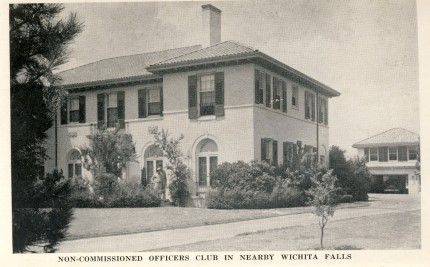 Non-Com Officers Club Wichita Falls 1942