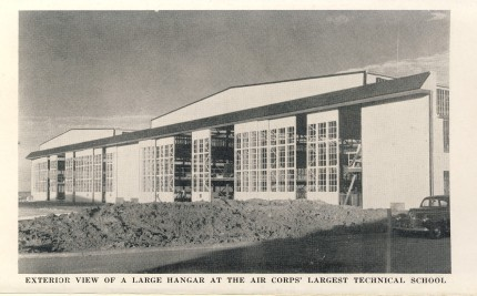 Sheppard Field Tech School Hangar 1942